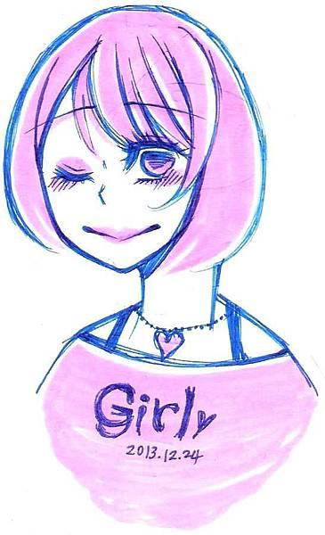 復古系Girl