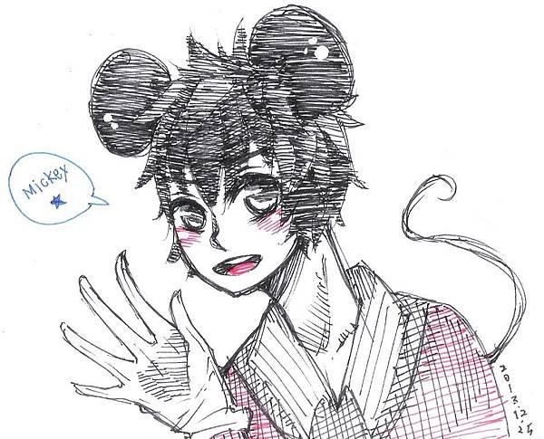 DISNEY-Mickey米奇擬人