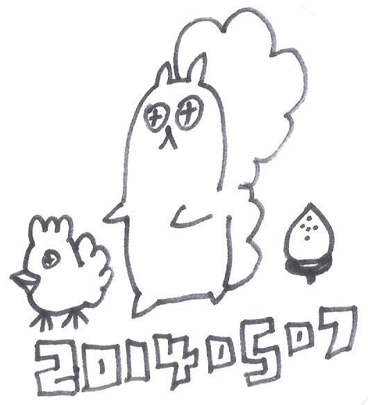 栗子雞與阿松