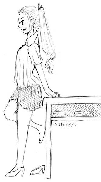 誘惑的女高生