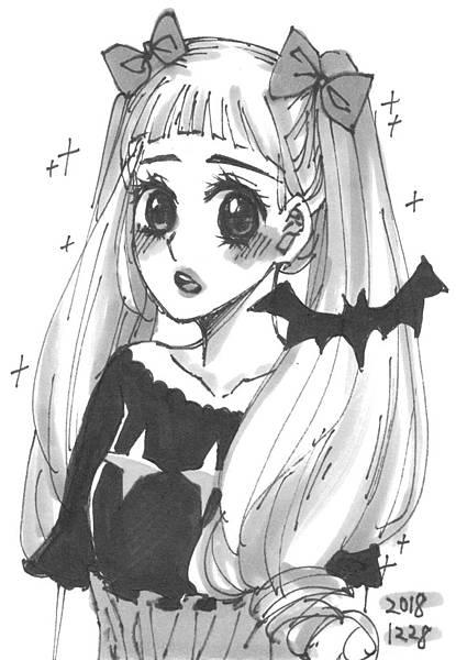 蝙蝠與小萌