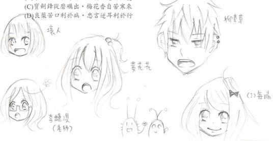 戀愛波蜜-國文題本