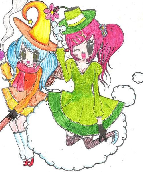 魔女與雲使者
