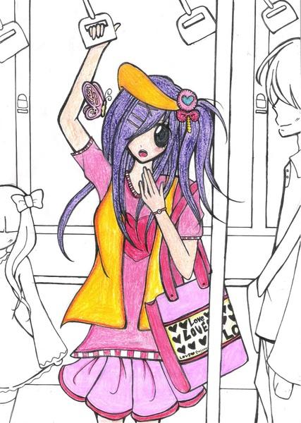 萱琳搭公車