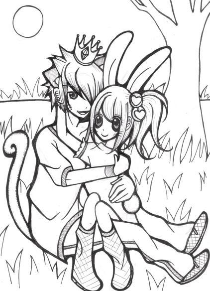 獅子戀兔子