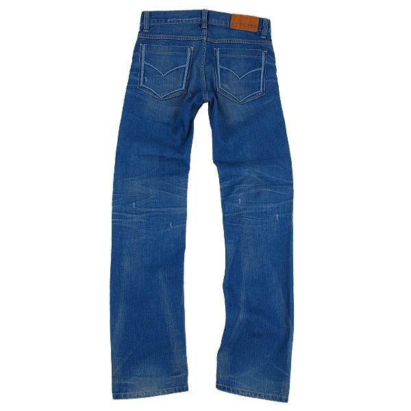 窄版牛仔褲(反面)