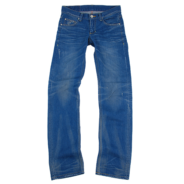 窄版牛仔褲(正面)