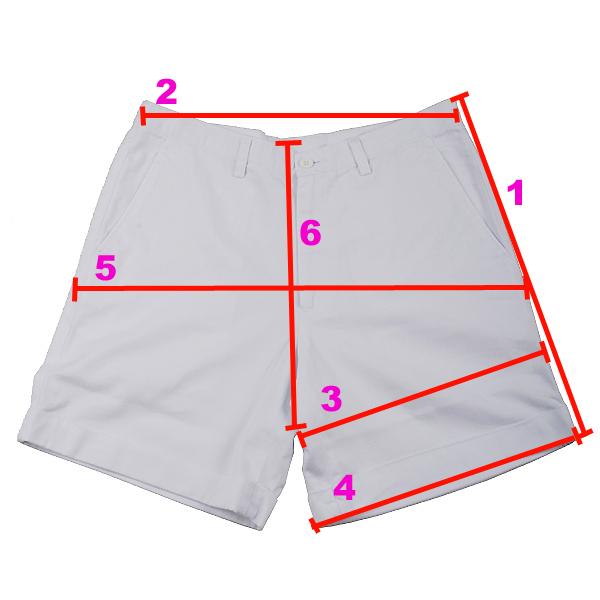 膝上西裝版短褲(比例)
