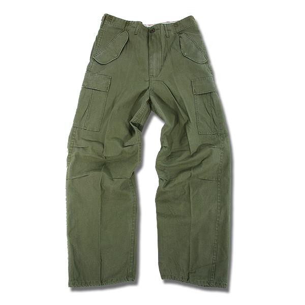 軍綠色軍褲(正面)