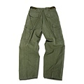 軍綠色軍褲(反面)