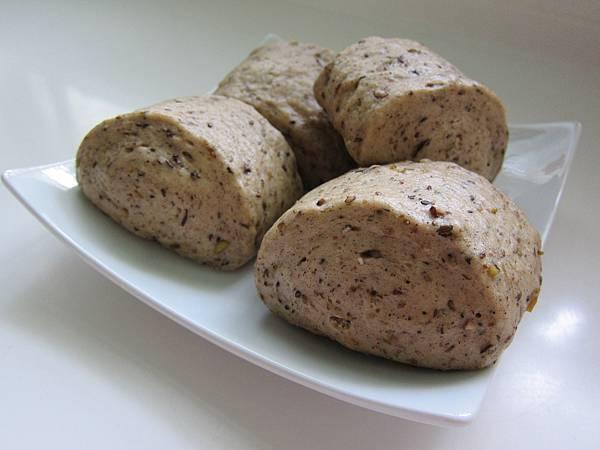 20121014-五穀米饅頭