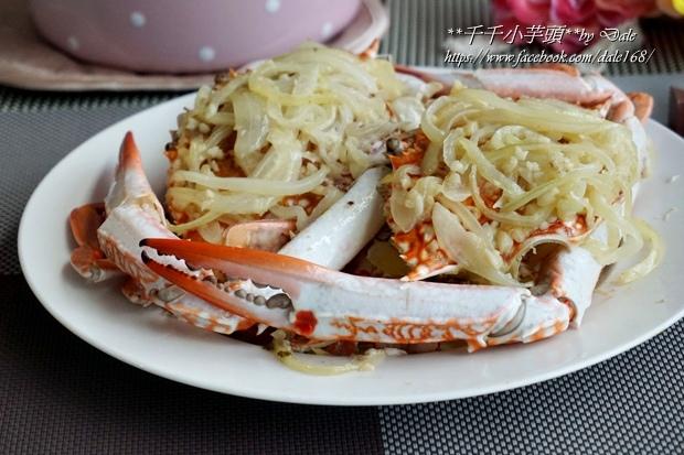 奶油蒜香洋蔥蟹11