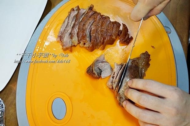 復興空廚年菜德國豬腳+法式烤鴨胸+百合時蔬燴猴頭菇+南瓜塔17.JPG