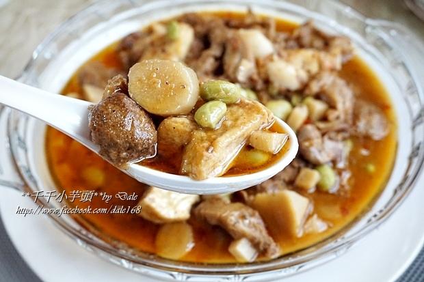 復興空廚年菜德國豬腳+法式烤鴨胸+百合時蔬燴猴頭菇+南瓜塔32.JPG