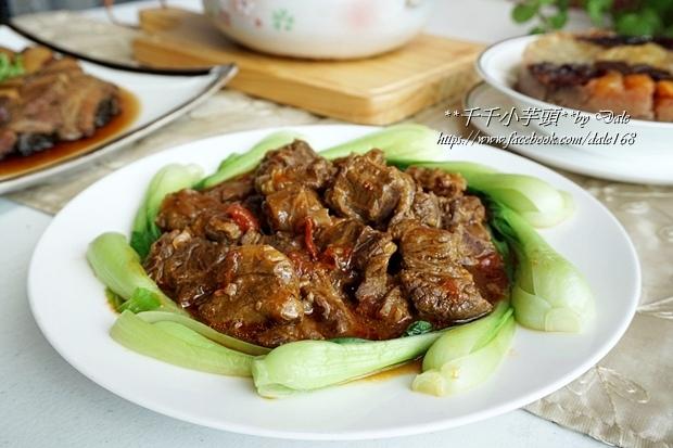 復興空廚年菜佛跳牆+滷梅干扣肉+紅燒蕃茄燉牛腩+八寶芋泥29.JPG