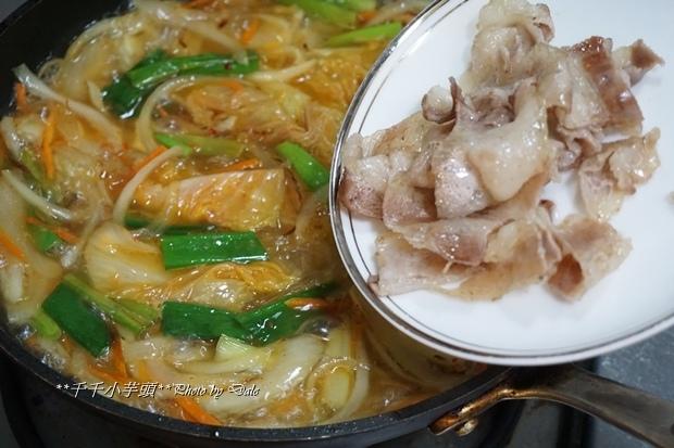 泡菜豬肉粉絲煲10.JPG