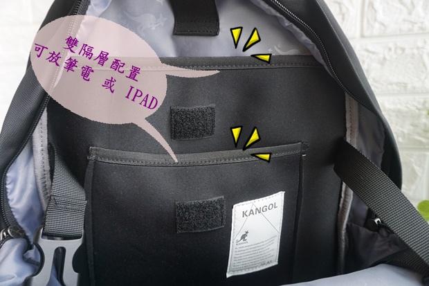 英式時尚潮流 特仕純黑款機能後背包8.JPG