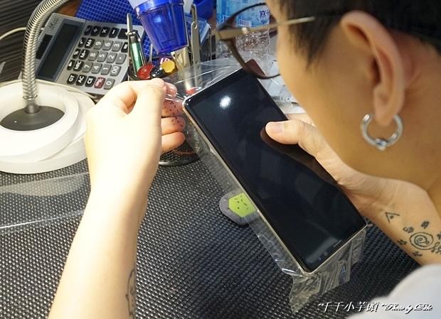 iDeology iPhone現場維修包膜33.JPG