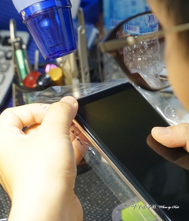 iDeology iPhone現場維修包膜34.JPG