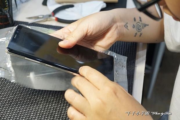 iDeology iPhone現場維修包膜44.JPG