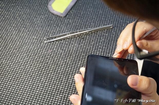 iDeology iPhone現場維修包膜47.JPG