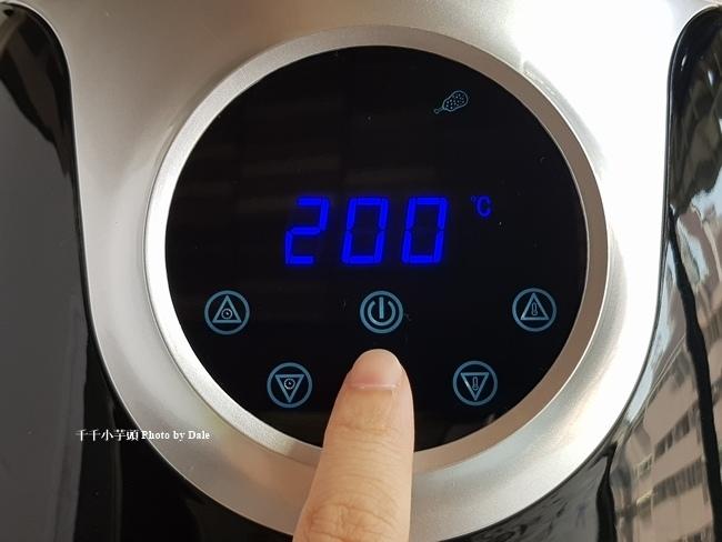 科帥 觸控式螢幕無油空氣炸鍋AF708 大容量8L36