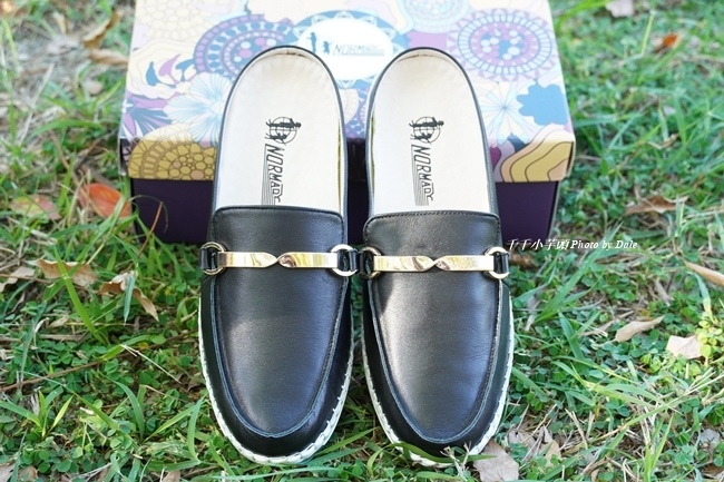 經典質感馬銜釦真皮磁石內增高氣墊球囊穆勒鞋11.JPG