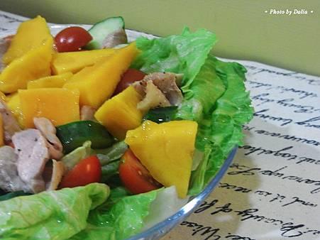 雞肉芒果沙拉 (9)