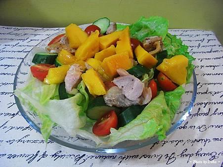 雞肉芒果沙拉 (8)