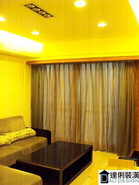 客廳-窗簾