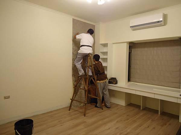 壁紙-施工中