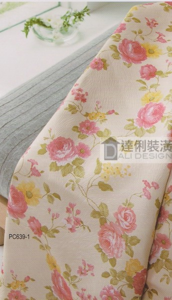 古典玫瑰-窗簾