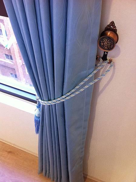次臥房-窗簾