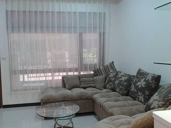 客廳-窗簾-窗紗