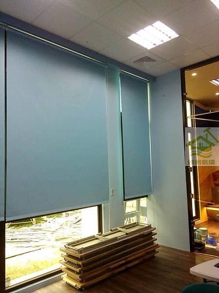 遮光捲簾-窗簾工程