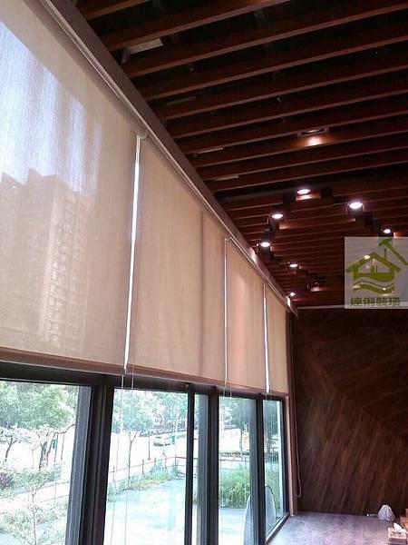 調光捲簾-窗簾工程