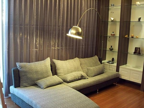 窗簾-客廳