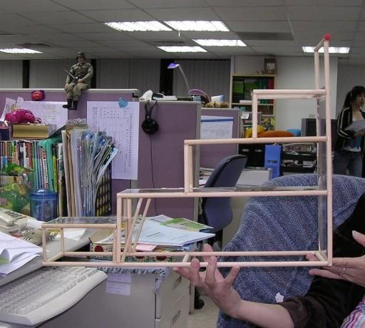 自製轉蛋架和吊飾架