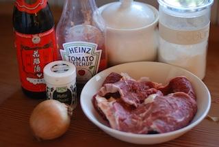 茄汁蔥燒牛肉