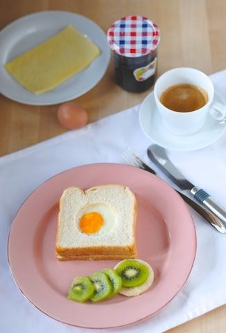 餐餐火腿雞蛋三明治
