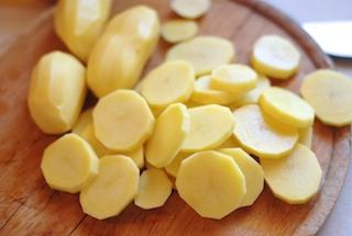 焗烤馬鈴薯火腿花椰菜