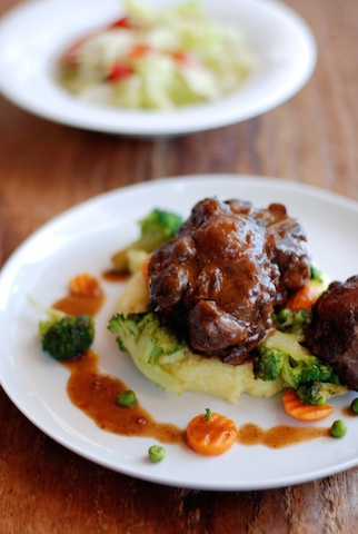 紅酒燴牛肉