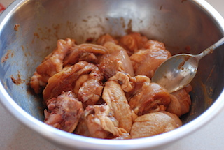 薑汁味噌燒雞
