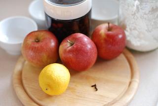 蘋果酥與香草醬