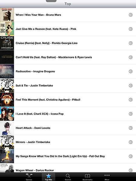 音樂APP:TopMusic
