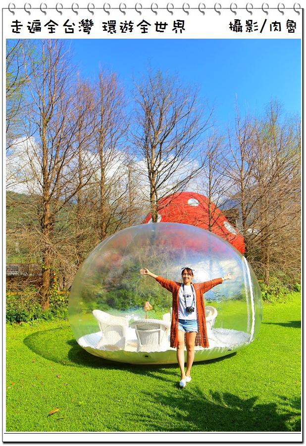 花蓮旅遊|花見幸福星空透明球 史上最大顆的告白氣球 比童話故事還夢幻的國度 星空下的浪漫幸福派對