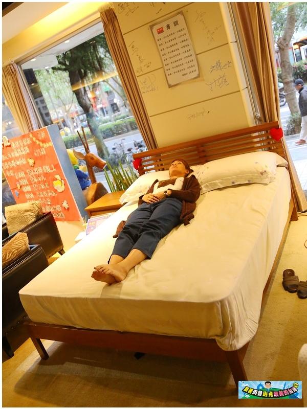 雙人床墊試躺