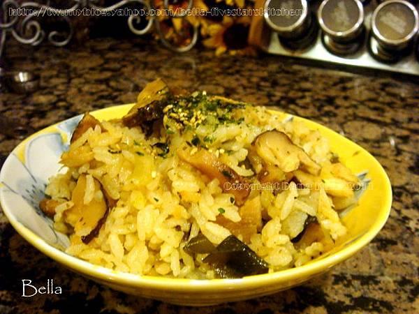 松茸海帶炊飯