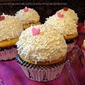 甜蜜香草杯子蛋糕