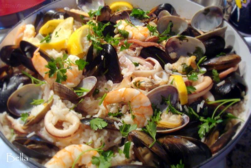 威尼斯海鮮燉飯